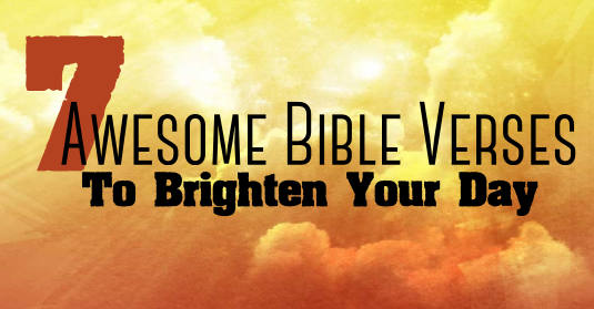 Many Hands Make Light Work Quote Bible: 7 Awesome Bible Verses To Brighten Your Day