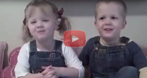 How Adorable, British Twins Recite Psalm 23