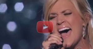 Carrie Underwood Singing How Great Thou Art