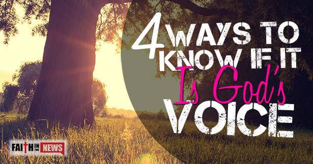 4 Ways To Know If It Is Gods Voice