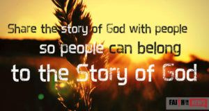 Share The Story Of God