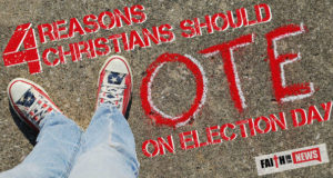 4 Reasons Christians Should Vote on Election Day
