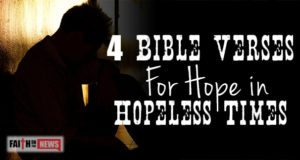 4 Bible Verses For Hope In Hopeless Times