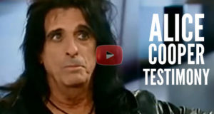 A Powerful Testimony From Alice Cooper Who Calls Himself A Prodigal Son