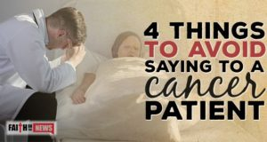 4 Things To Avoid Saying To A Cancer Patient