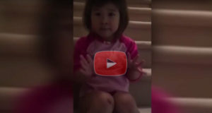 Little Girl Teaches Her Parents To Get Along
