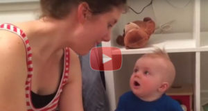 This Adorable Baby Is In Love With Books and Cries At The End Of Each Reading