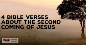 4 Bible Verses About The Second Coming Of Jesus