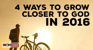 4 Ways To Grow Closer To God In 2016