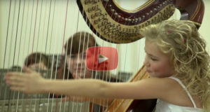 God Gifted 9 Year Old Alisa With An Amazing Ability To Play The Harp