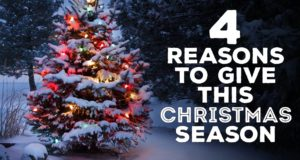4 Reasons To Give This Christmas Season