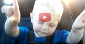 This Little Guy Praising the Lord Is Priceless