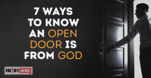 4 Ways To Discern If An Open Door Is From God